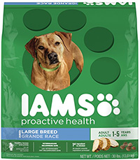 cheap dog food iams proactive health