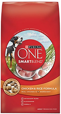 cheap dog food purina one smart blend